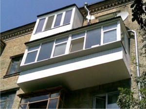 Расширение балкона Харьков