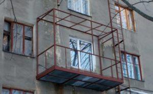 балкон «с нуля» в Харькове